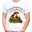 Koszulka Najlepszy Grzybiarz na grzyby