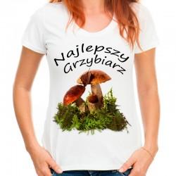 Koszulka damska Najlepszy Grzybiarz