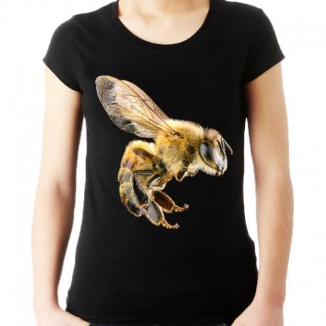 Koszulka z pszczołą damska
