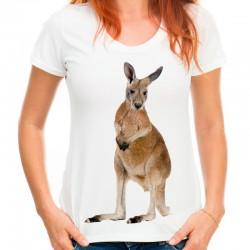 Koszulka z Kangurem damska