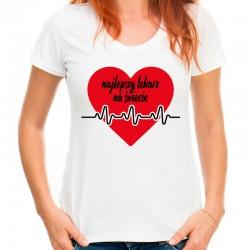 Koszulka damska najlepszy lekarz na świecie