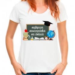 Koszulka najlepsza nauczycielka na świecie