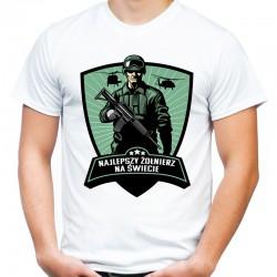 Koszulka najlepszy żołnierz na świecie