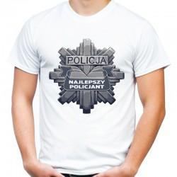 Koszulka najlepszy policjant na świecie