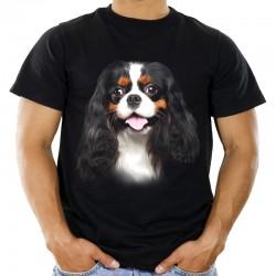 Koszulka z Cavalierem psem