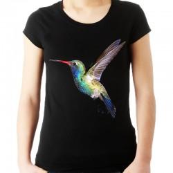 Koszulka z Kolibrem damska