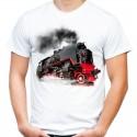 Koszulka z parowozem