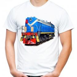 Koszulka z pociągiem