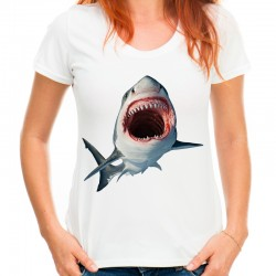 Koszulka z Rekinem Shark damska
