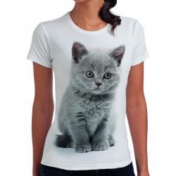 t-shirt damski z kotem KT009