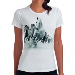 koszulka damska z koniem KN002