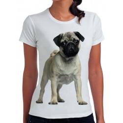 t-shirt damski z psem PS002