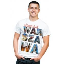 koszulka męska Warszawa