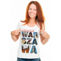 koszulka damska Warszawa