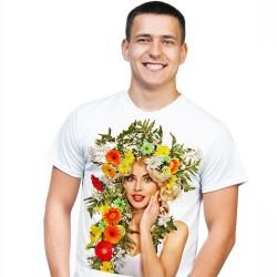 Koszulka męska z własnym nadrukiem A3