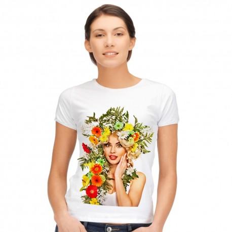 Koszulka z własnym zdjęciem damska A3