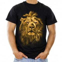 Koszulka męska z lwem A01048
