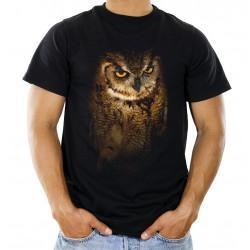 Koszulka męska z sową