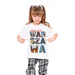 Koszulka dziecięca Warszawa