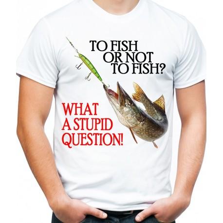 Koszulka na ryby To Fish or not to fish