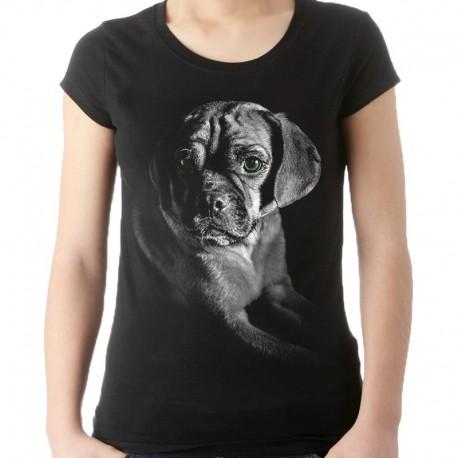 koszulka damska z psem bokserem