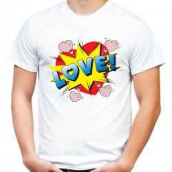 koszulka męska LOVE 6