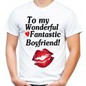 koszulka męska  TO MY BOYFRIEND