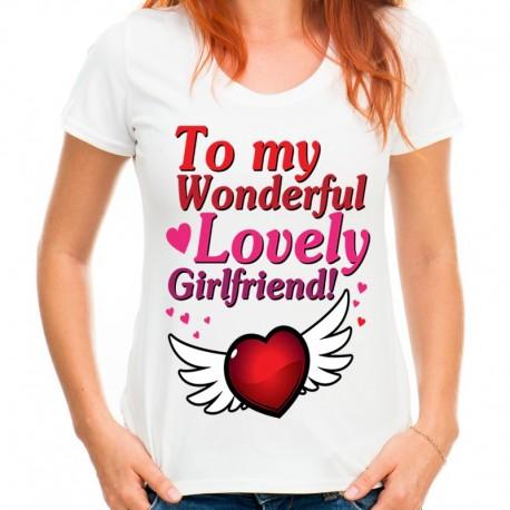 koszulka damska  TO MY GIRLFRIEND