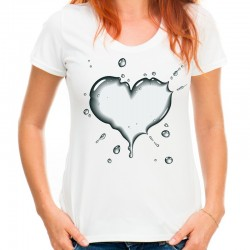 koszulka damska z SERCEM