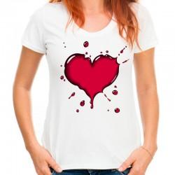 koszulka damska z SERCEM 2