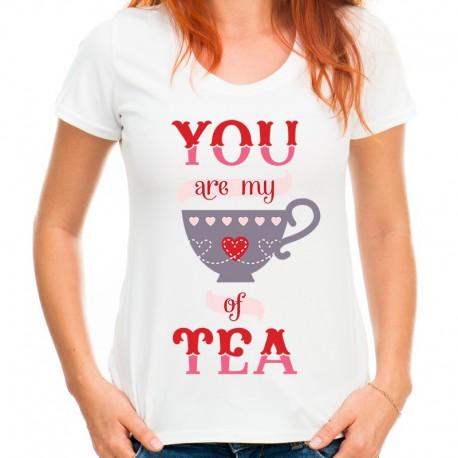 koszulka damska YOU ARE MY CUP OF TEA