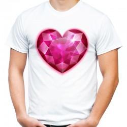 koszulka męska SERCE 2
